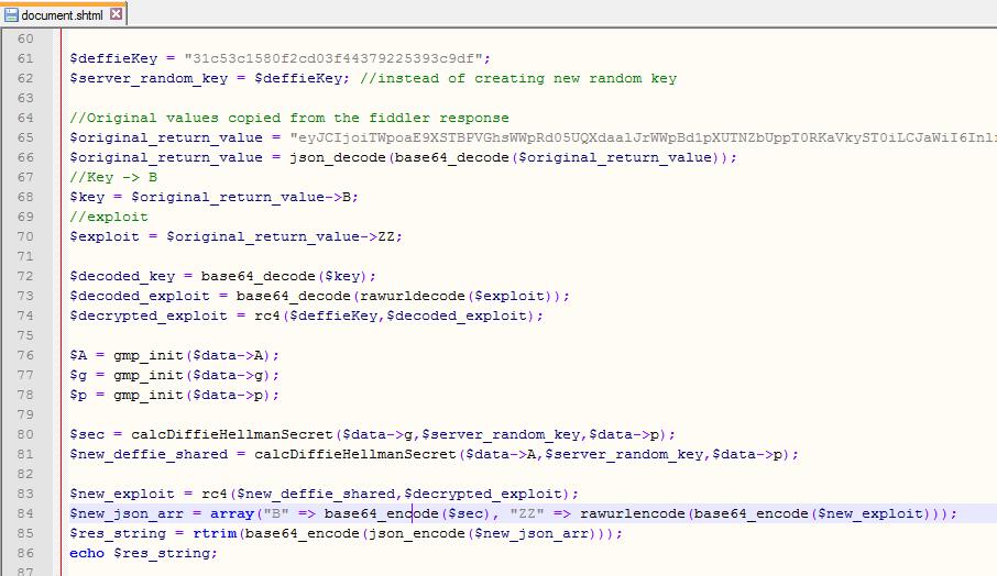 php-server-code