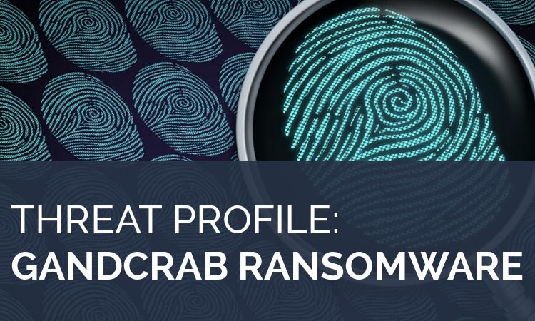GandCrab ransomware profile