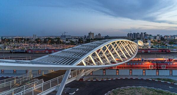 beer-sheva-bridge-israel-evening-sm