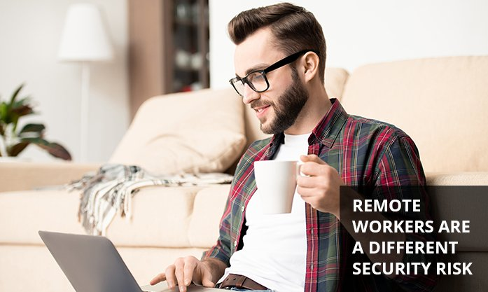 security of staff working from home