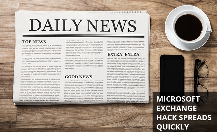 Microsoft Exchange Server hack's doubling every two hours
