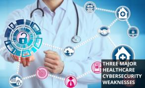 Weaknesses in healthcare cybersecurity