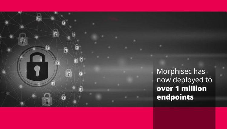 Morphisec Hits One Million Endpoint Milestone