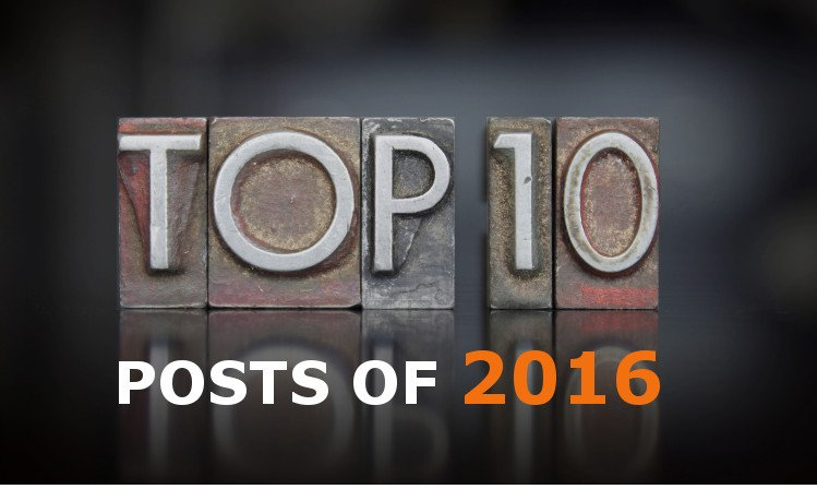 Our Top 10 Blog Posts of 2016