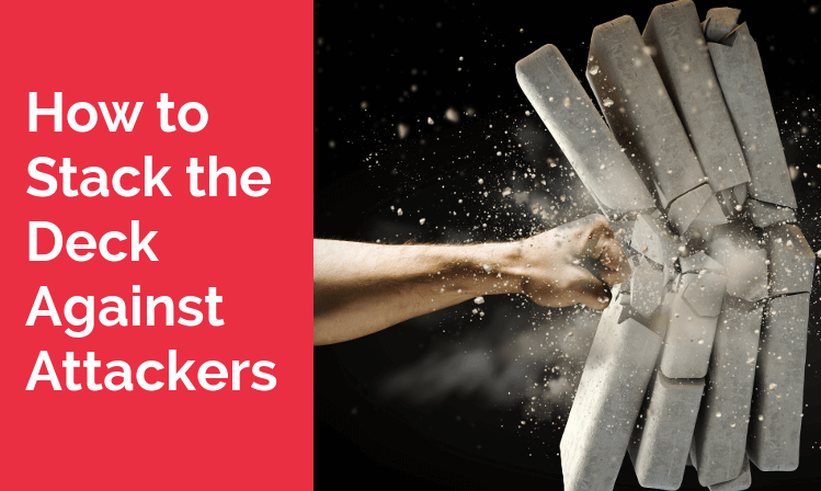 How to Stack the Deck Against Attackers.Gartner Security Summit Recap.