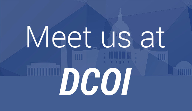 Meet us at DCOI 2016
