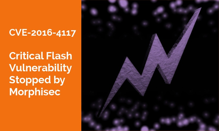 Flash Vulnerability Problems No Flash in the Pan [CVE-2016-4117]