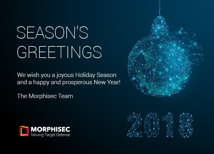 Happy Holidays and Best Wishes for 2018